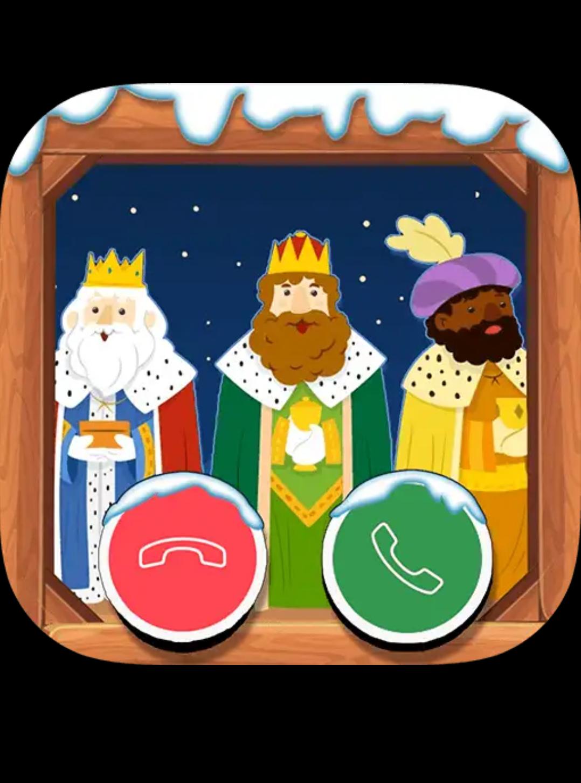 App para llamar a los reyes magos