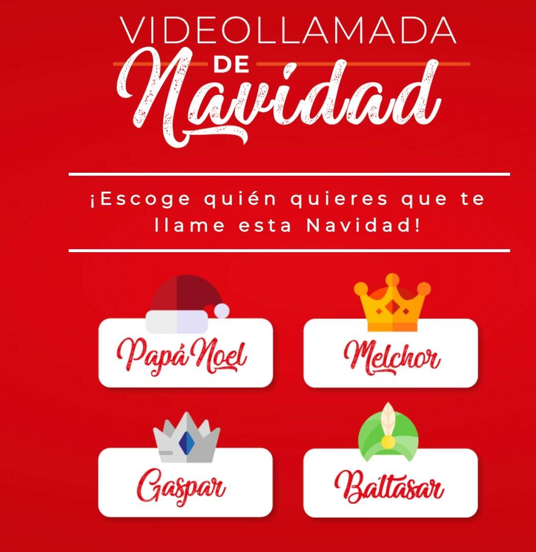 Videollamada De Navidad Con Papá Noel o Rey Mago preferido