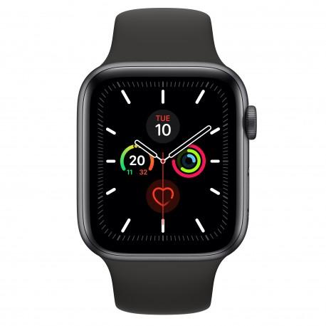 Apple - Watch Series 5 OLED 44 mm Gris GPS (satélite)