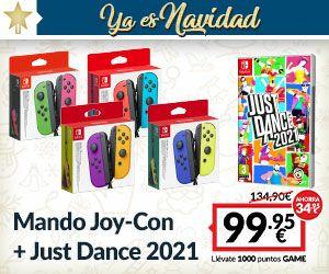 Joy Con + Just Dance 2021