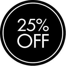 25 % EXTRA DESCUENTO EN SELECCIONADOS ( YOOX )