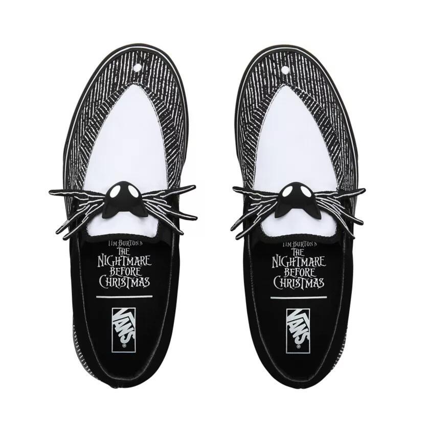 Zapatillas Vans Modelo Pesadilla antes de Navidad