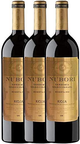 3 botellas de Nubori Reserva