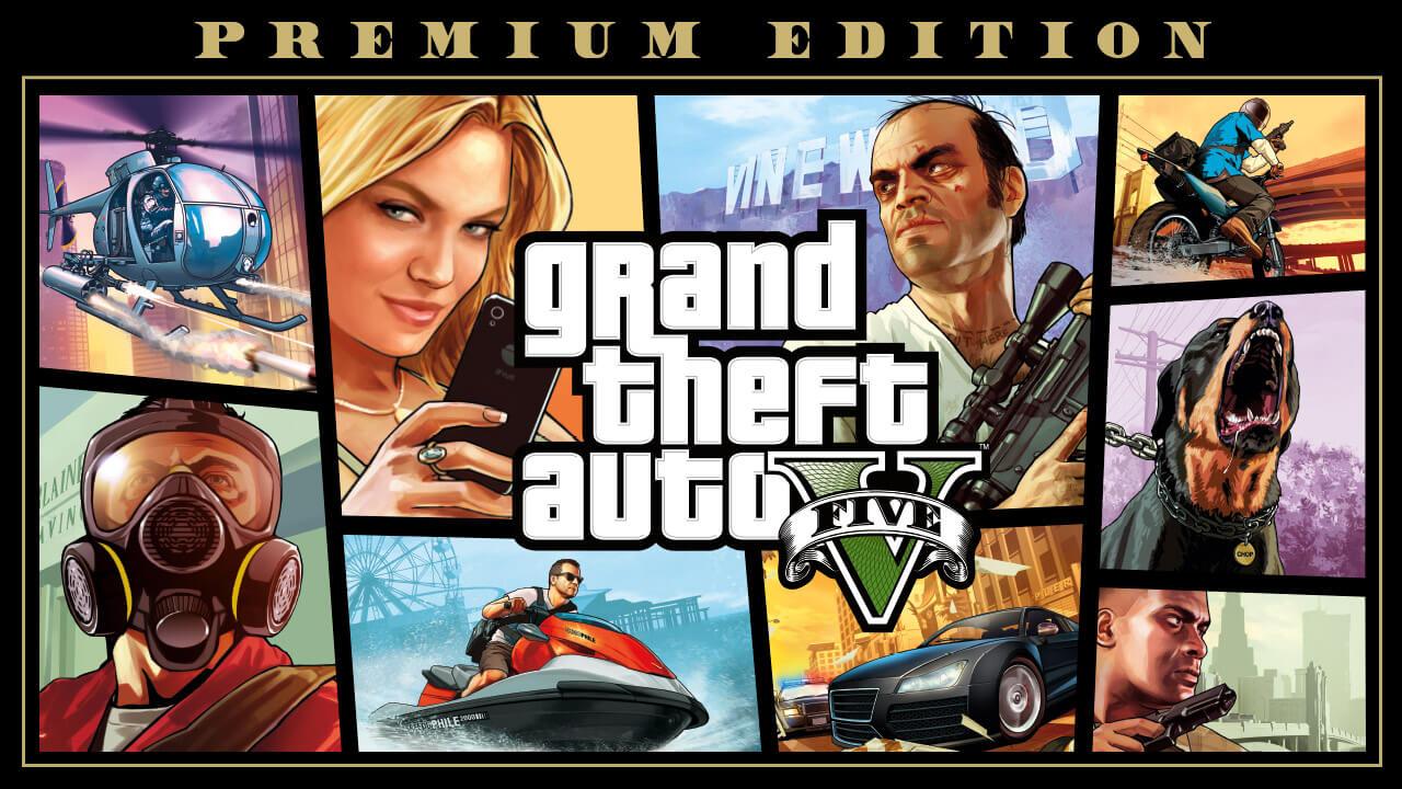 GTA 5 Premium edition solo por 4.99€ con Cupón Epic