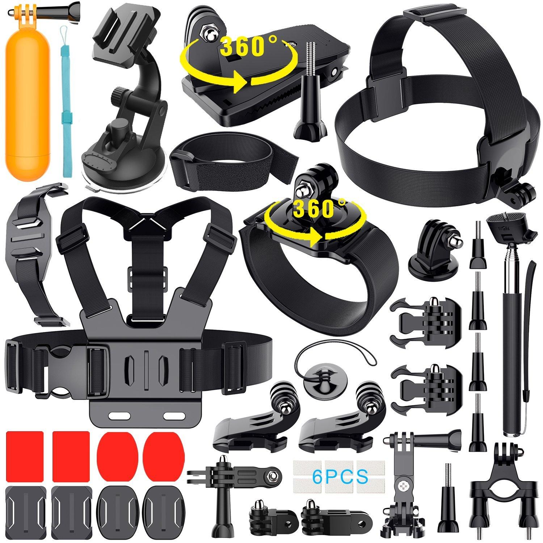 36 en 1 accesorios para GoPro hero 5/4/3+/3/2/1 SJCAM SJ4000 SJ5000 SJ6000