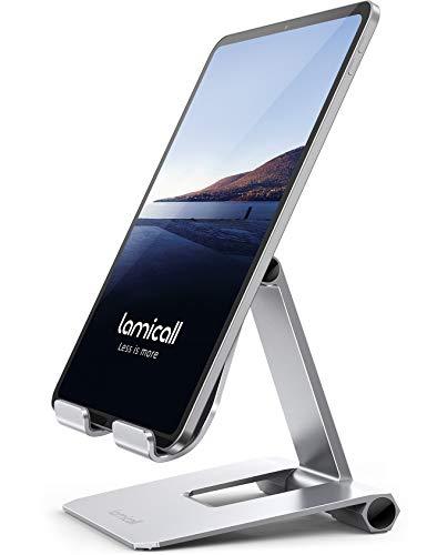 """Lamicall Soporte Tablet, Multiángulo Soporte Tablet - Plegable Soporte Ajustable para 4.7""""~13"""""""