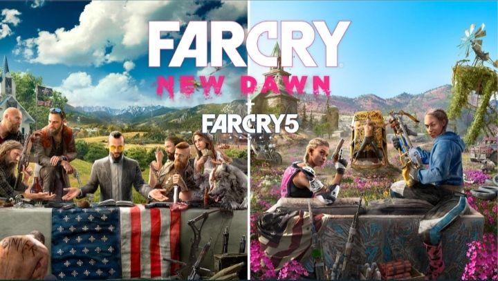 Far Cry 5 + Far Cry New Dawn Deluxe Edition( Leer descripción)