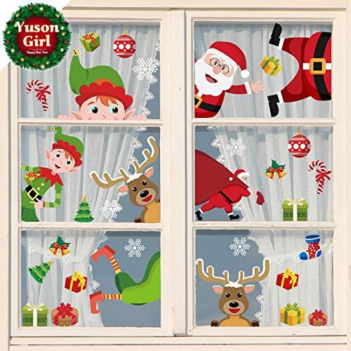 Pegatinas Navideñas para ventanas y escaparates