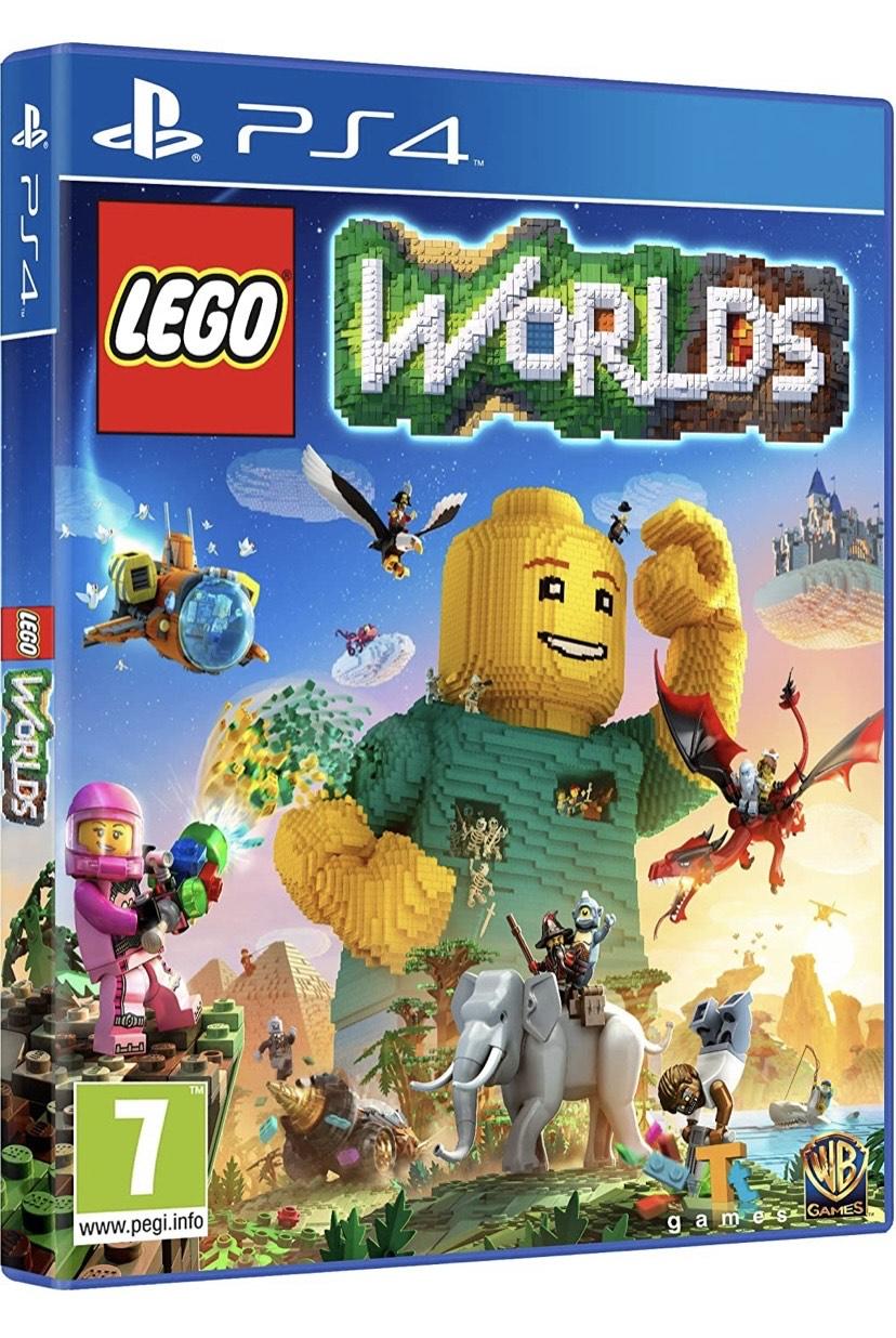 LEGO Worlds - Edición Exclusiva Amazon - PlayStation 4 incluye DCL