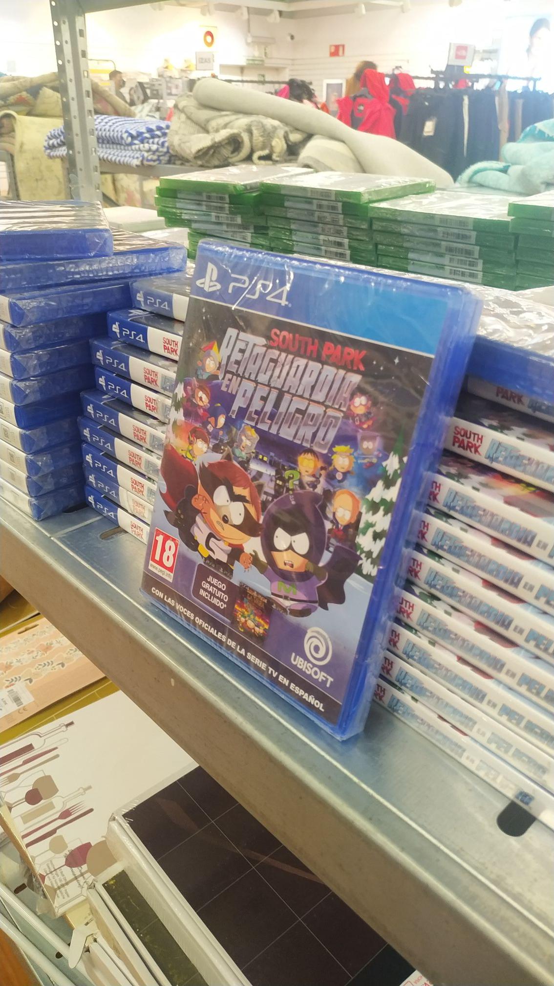 South Park La Retaguardia En Peligro PS4 (+ South Park La Vara de la Verdad) //Outlet el corte inglés
