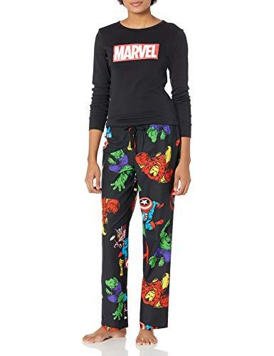 Mujer Disney Star Wars Marvel Conjuntos de pijamas a juego para toda la familia de franela