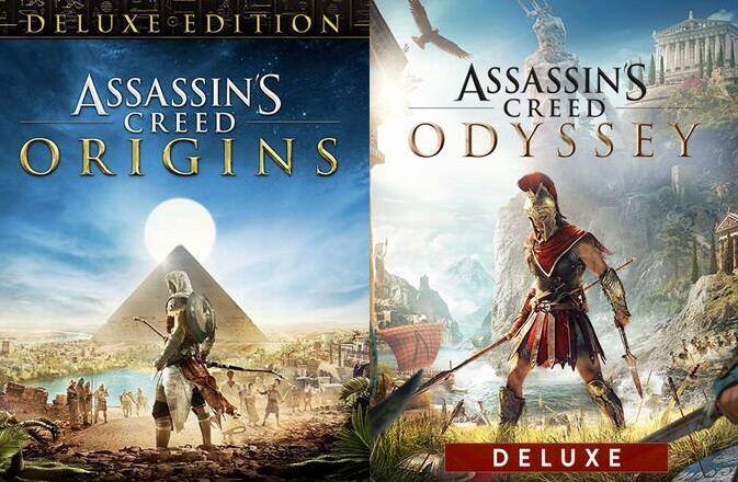 [Epic Games] Assassin's Creed Origins Deluxe Edition por 5.39€ & AC Odyssey Deluxe Edition por 9.99€