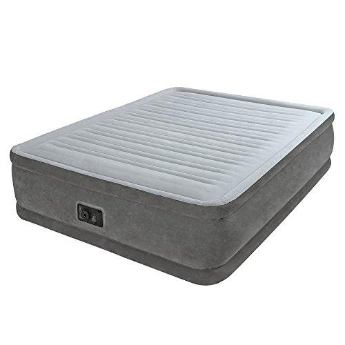 Intex 64414 - Fibertech comfortplush Colchón hinchable, 152x203x46cm