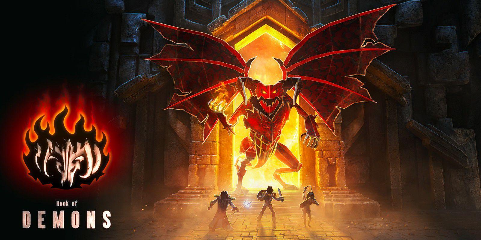 Descuento 90% en Book of Demons de Nintendo Switch (eshop España)