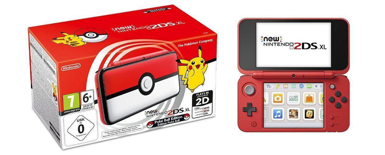 Vuelve a bajar la New Nintendo 2DS XL Edición Pokeball