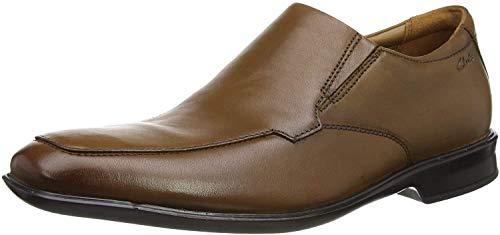Zapatos mocasines cuero Clarks marrón T 44,5