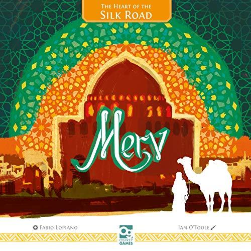 MERV: The Heart of The Silk Road - juego de mesa