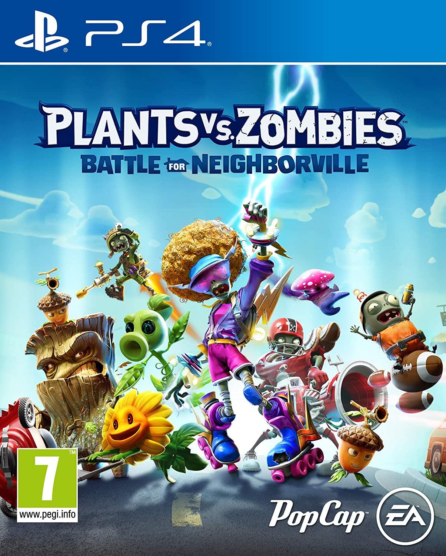 PS4: Plants vs Zombies: Battle for Neighborville y Disney Classic Games: Aladdin y El Rey León por 9,99€ cada uno (juegos físicos)
