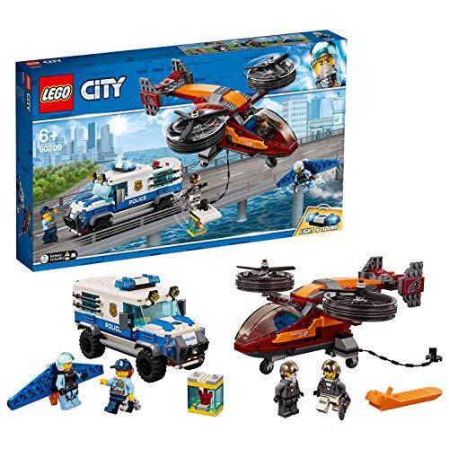 LEGO City - Police Policía Aérea: Robo del Diamante