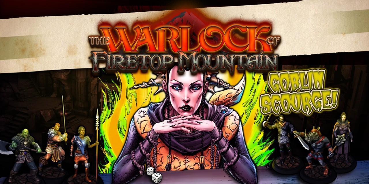 Juego The warlock of fire top mountain: goblin sourge edition, Nintendo