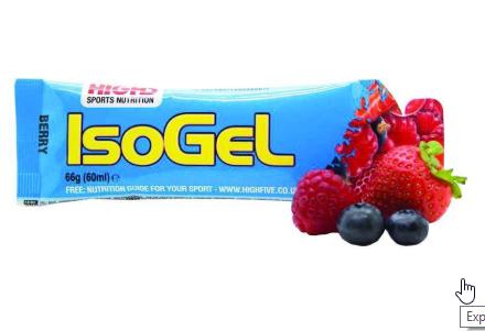 ISOGEL 60ml varios sabores