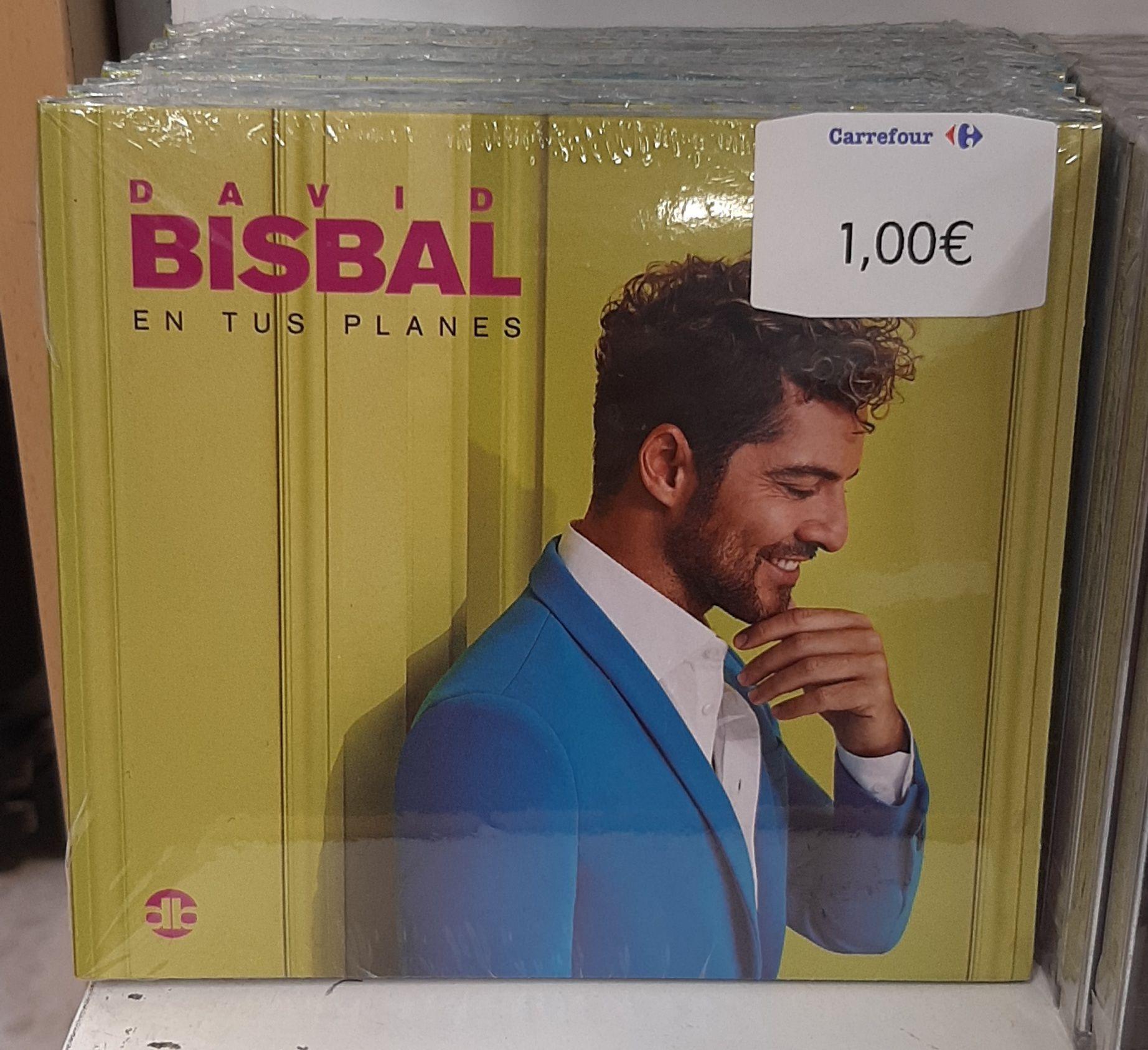 Cd David Bisbal - En tus planes en Carrefour los Patios - Malaga