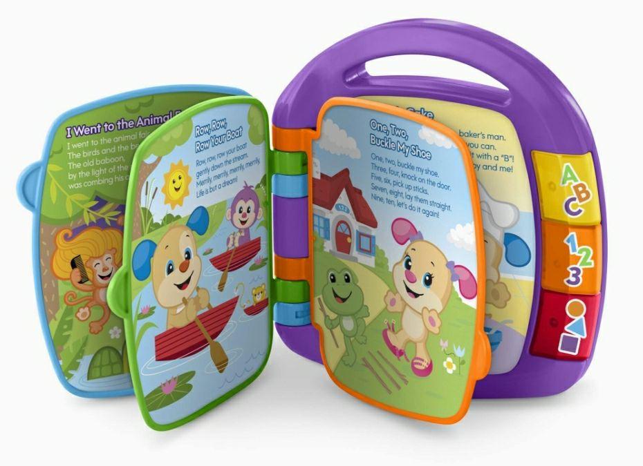 Fisher-Price, Juguete - Libro interactivo de aprendizaje para bebé