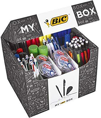 My BIC Box Caja de 124 productos de escritura