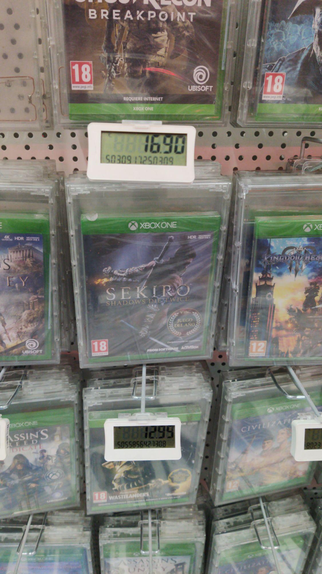 Sekiro Xbox One en Mediamarkt de Alfafar