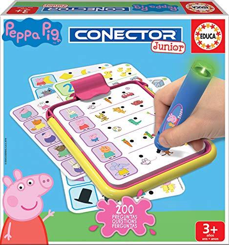 Educa - Conector Junior Peppa Pig: aprende sobre formas