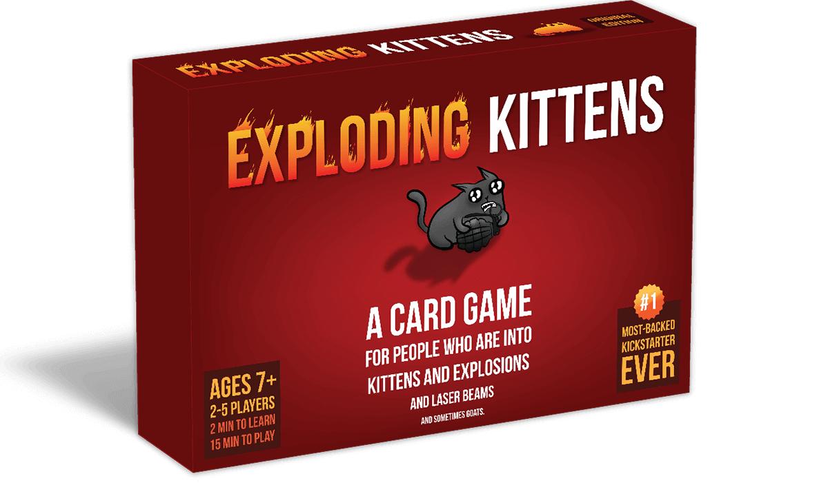 Exploding Kittens juego cartas