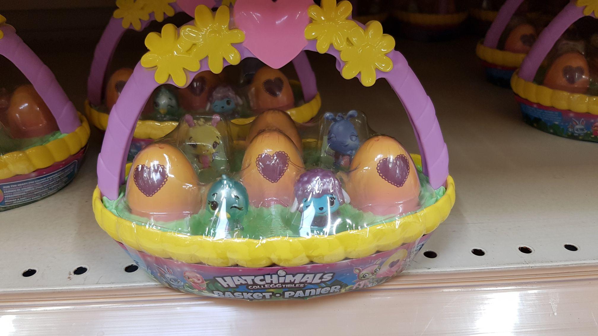 Hatchimals cesta 6 huevos (alcampo granada)