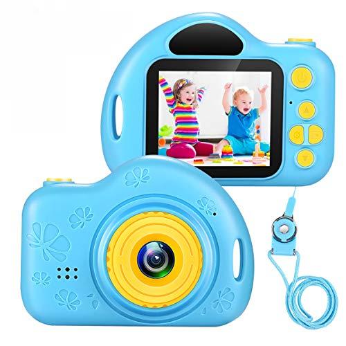 vatenick Cámara Digital para Niños A Prueba De Choques Pantalla HD de 2 Pulgadas 1080P con Tarjeta TF de 32GB incluida