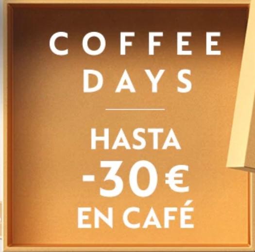 COFFEE DAYS hasta -30€ EN CAFÉ