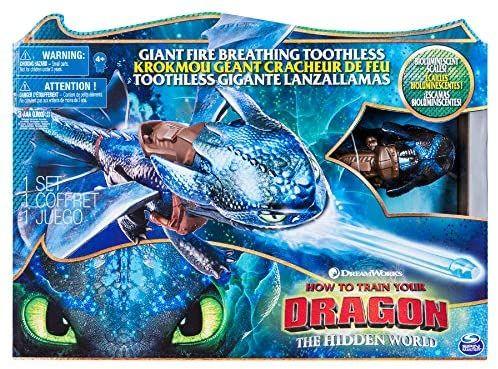 Cómo Entrenar a tu Dragón Dragón Lanzallamas, Desdentado
