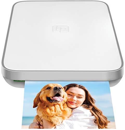 Lifeprint Impresora portátil de Fotos y vídeos, 2x3 para Dispositivos iOS y Android, Blanco