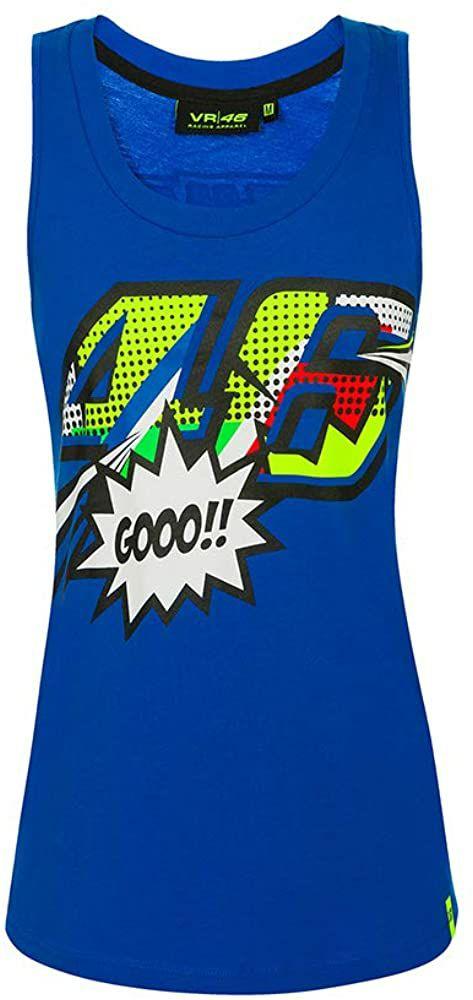 Valentino Rossi Pop Art Camiseta de Tirantes Mujer Talla L
