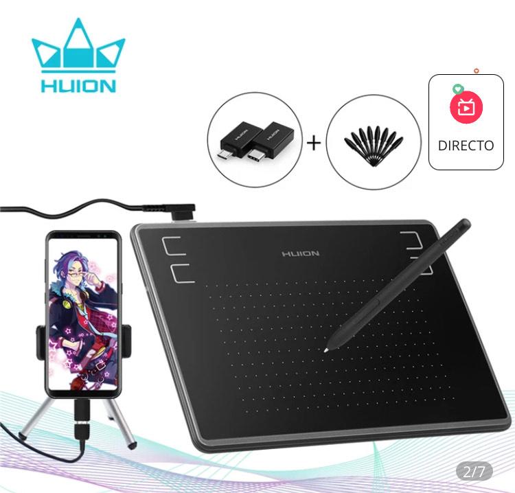 HUION Tableta de dibujo gráfico ultrafino H430P desde España