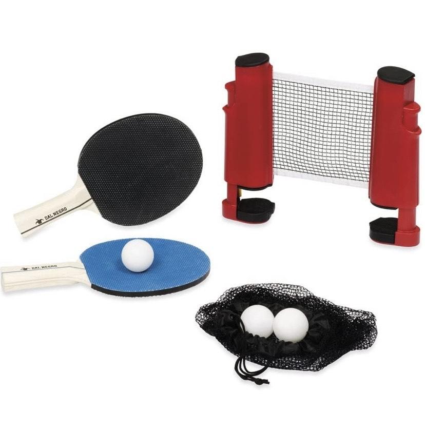 Juego Ping Pong Red con Raquetas y Bolas