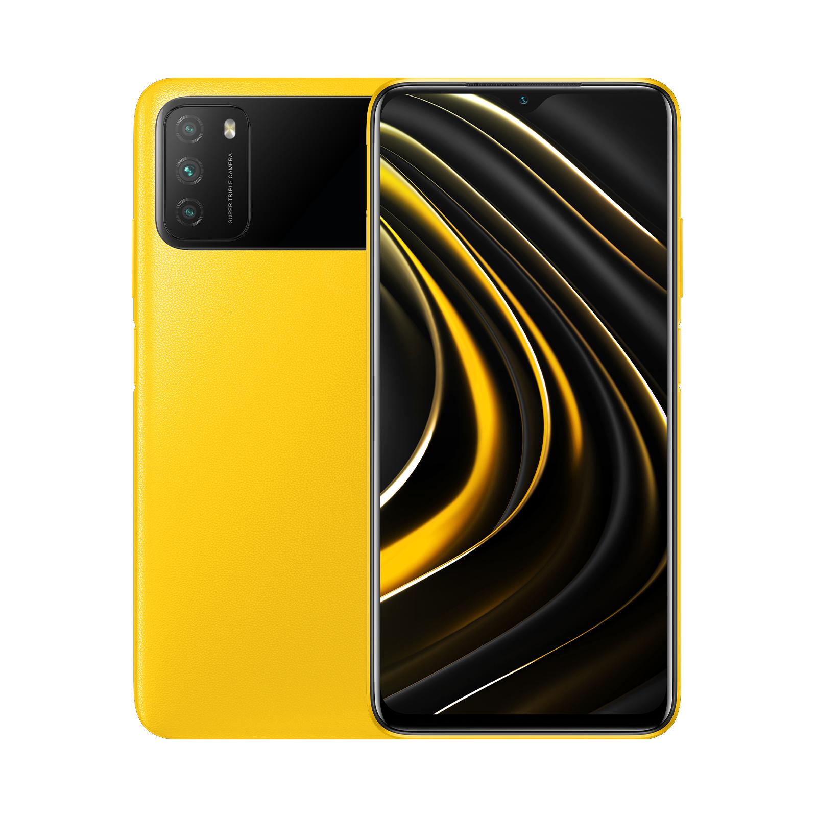 Xiaomi POCO M3 Amarillo 4gb 64gb