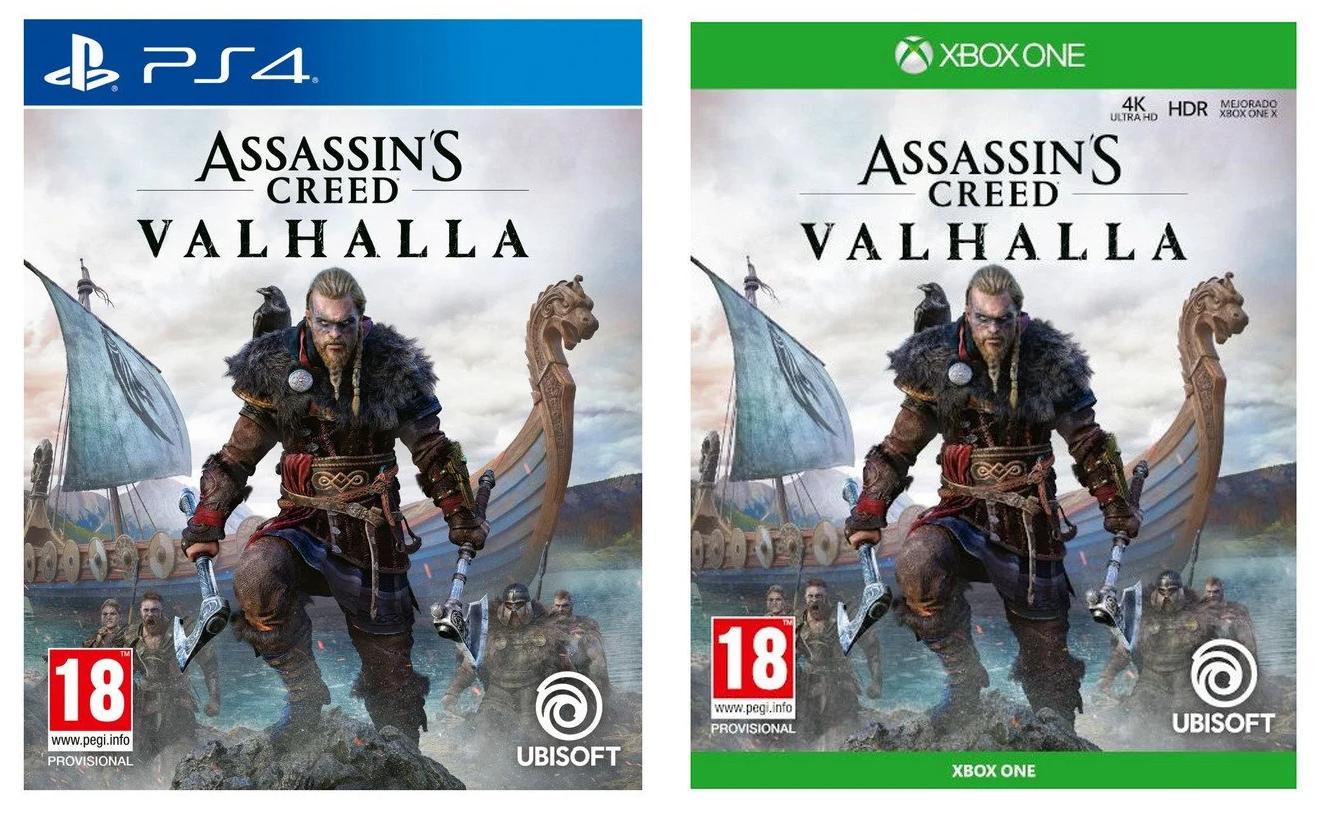 Assassin's Valhalla PS4 - XBOX solo 42.9€