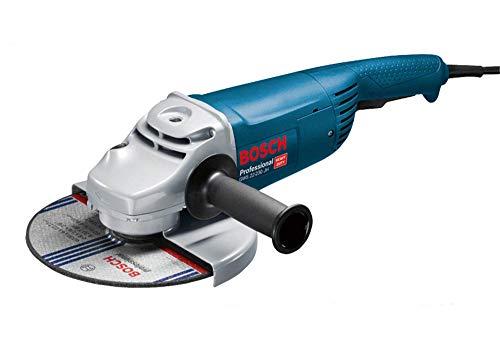 Bosch Professional GWS 22-230 JH - Amoladora angular (2200 W, 6500 rpm