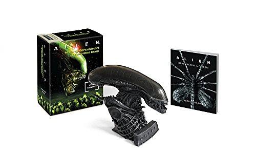 Alien: Hissing Xenomorph And Illustrated Book: With Sound! Edición en Inglés