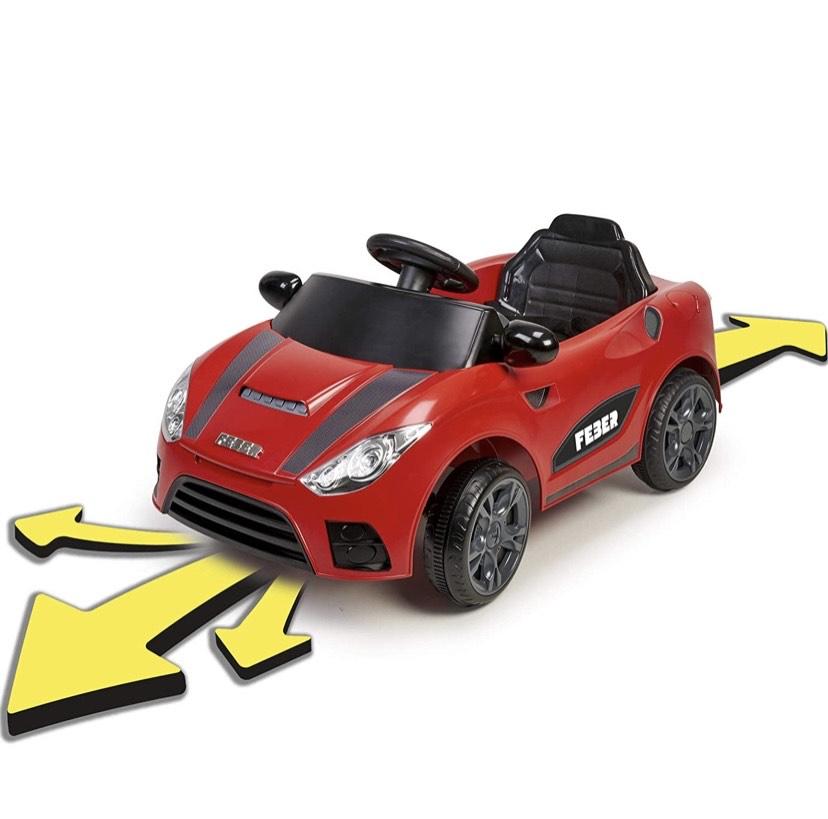 FEBER My Real Car - Coche eléctrico a bateria Interactivo, para niños y niñas de 18 meses a 4 años (Famosa