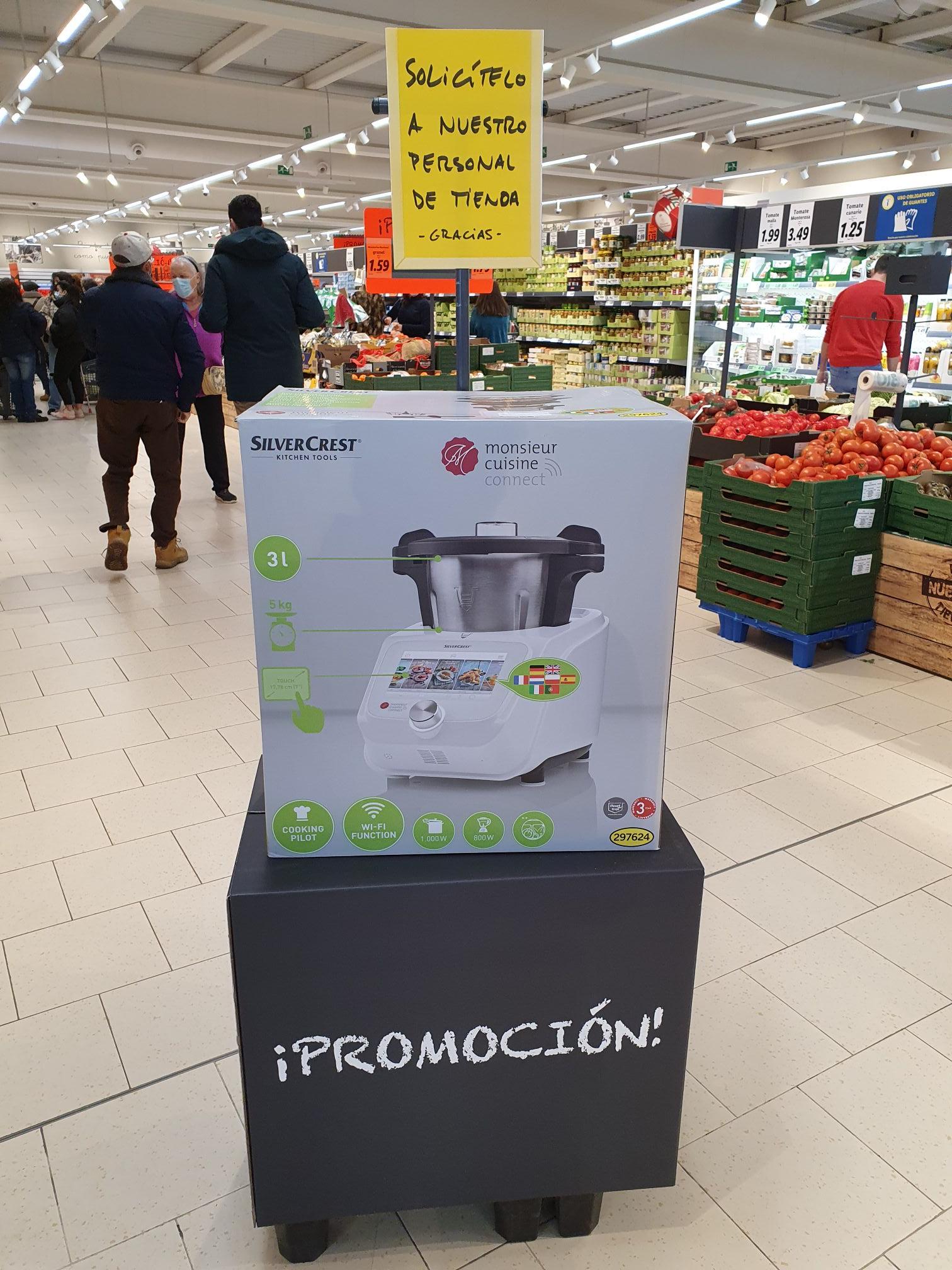 Termomix Lidl Monsieur Cuisine Robot Cocina