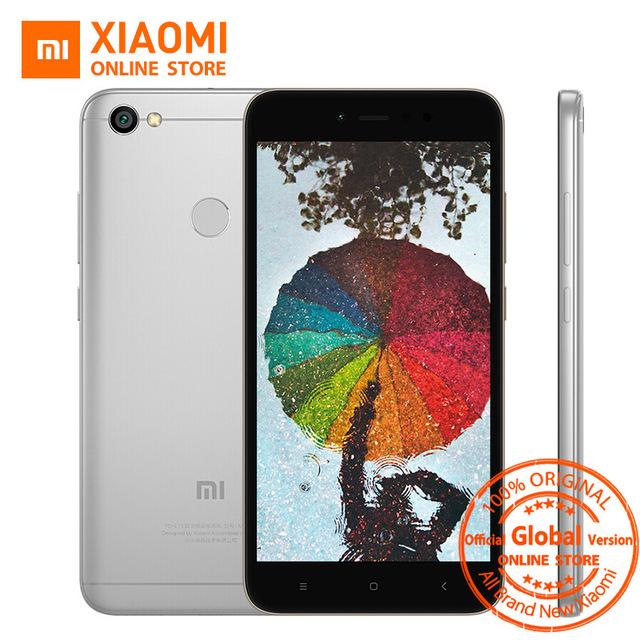 Global Versión Xiaomi Redmi Nota 5A 5 A 3 GB 32 GB Teléfono móvil Snapdragon 435 Quad CPU Core 16.0MP Cámara Frontal huella digital