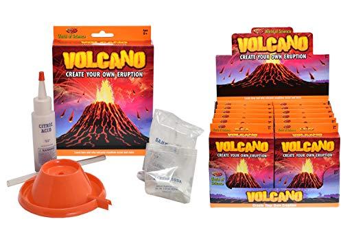 Kit de Ciencia de erupción volcánica