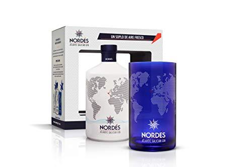 Ginebra Nordés (botella de 70 cl + vaso coleccionable de regalo)