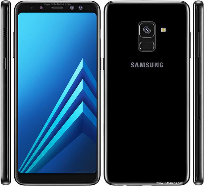 Samsung Galaxy A8 A530 Dual Sim 4G 32GB (4GB Ram)(2018)(Libre) - Negro
