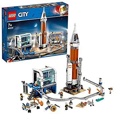 LEGO City Space Port - Cohete Espacial de Larga Distancia y Centro de Control, Inspirado en la NASA